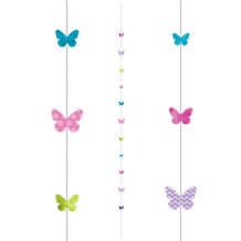 Balloon Tails - Butterflies Balloon Tail (1.82m) 1pc